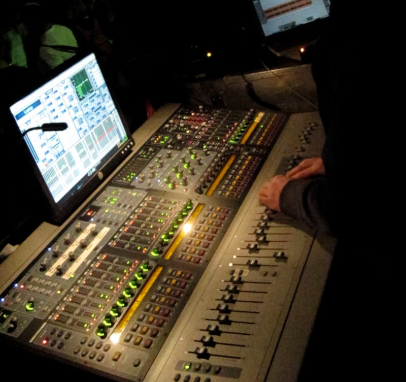 Avid Venue FOH Mix – Live Audio Reference