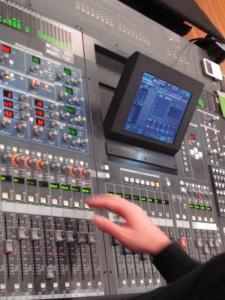 A Band Engineer at work