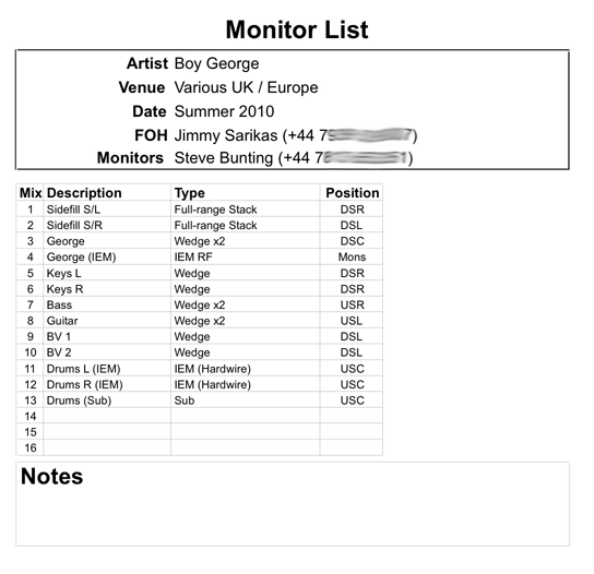 Total pro audio how to write a band technical specification monitor list example maxwellsz