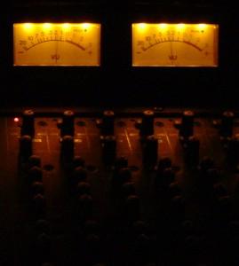 Console VU Metering